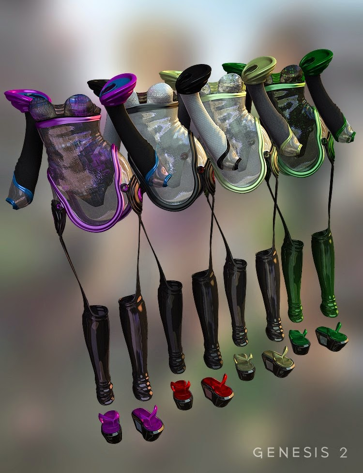Shinjuku Outfit Textures