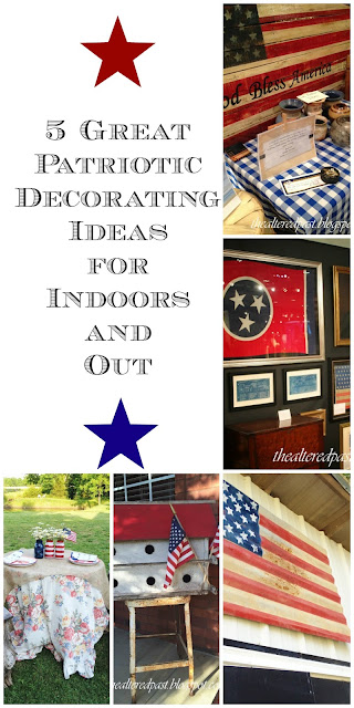 5 great decorating ideas for patriotic holidays, red white and blue