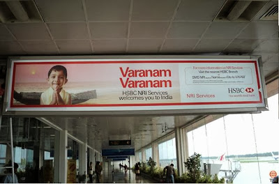airport advertising, airport displays, airport signages