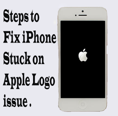 IPHONE STUCK ON APPLE LOGO � STEPS TO FIX 2016
