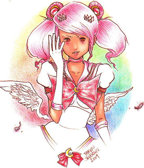 Chibi Usa - Sailor Moon por pico-chan