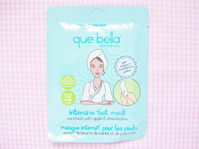 Que Bella Intensive Foot Mask Review