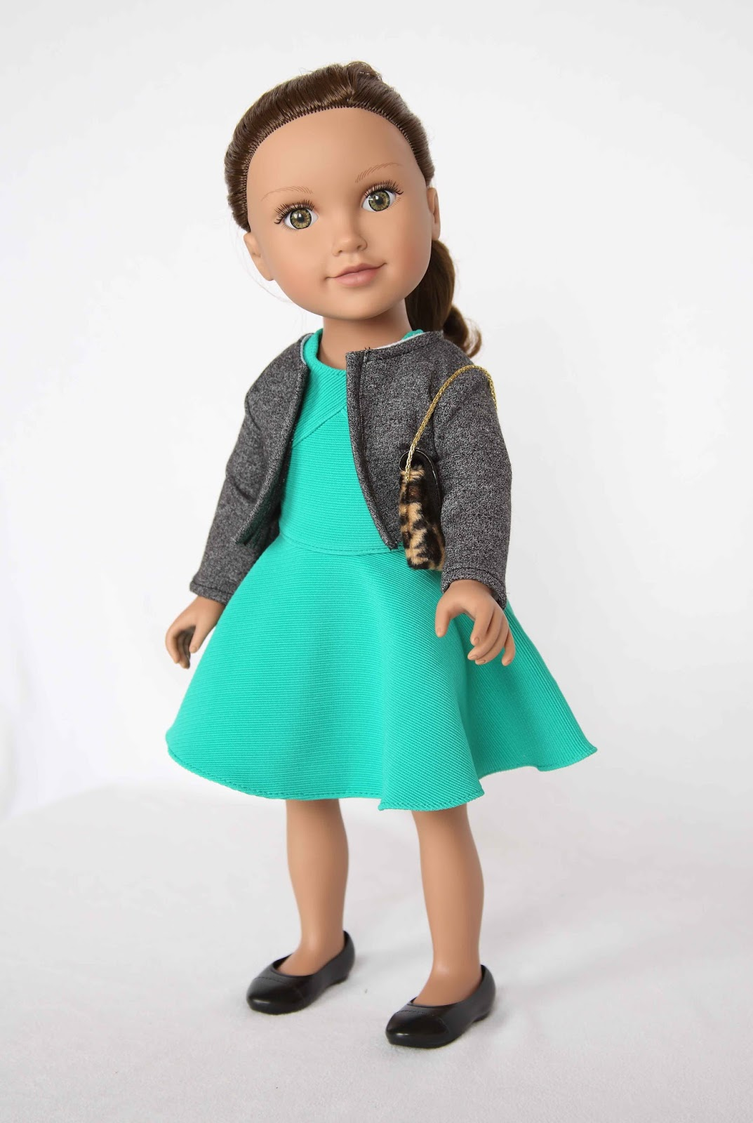 My Journey Girls Dolls Adventures: New York Overalls Outfit
