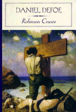 a review of robinson crusoe by daniel defoe Image of the imaginative works of daniel defoe: robinson crusoe, moll  flanders,  of modern journalism, defoe wrote one of the first newspapers, the  review.