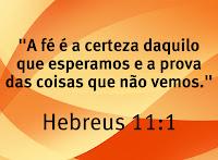Significado da Palavra FÉ em Hebreus 11:1