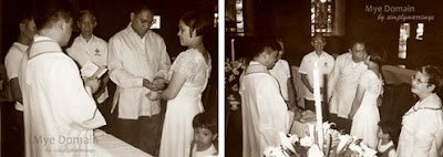 Our church wedding: July 18, 1998