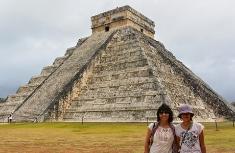 Chichen Itza, viajar, hijos