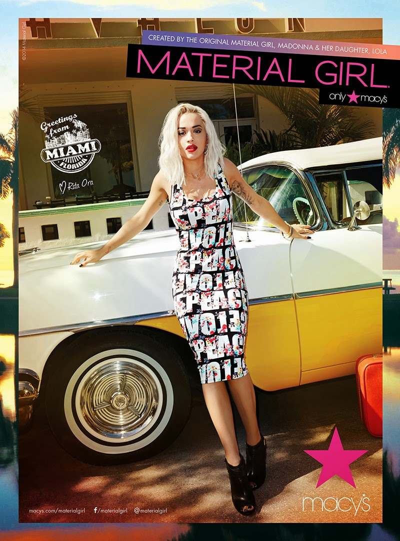 Rita Ora HQ Pictures Material Girl's Magazine Photoshoot Spring 2014