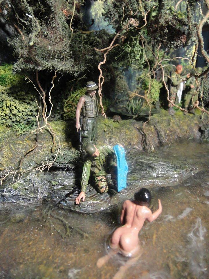 vietnam war nude women