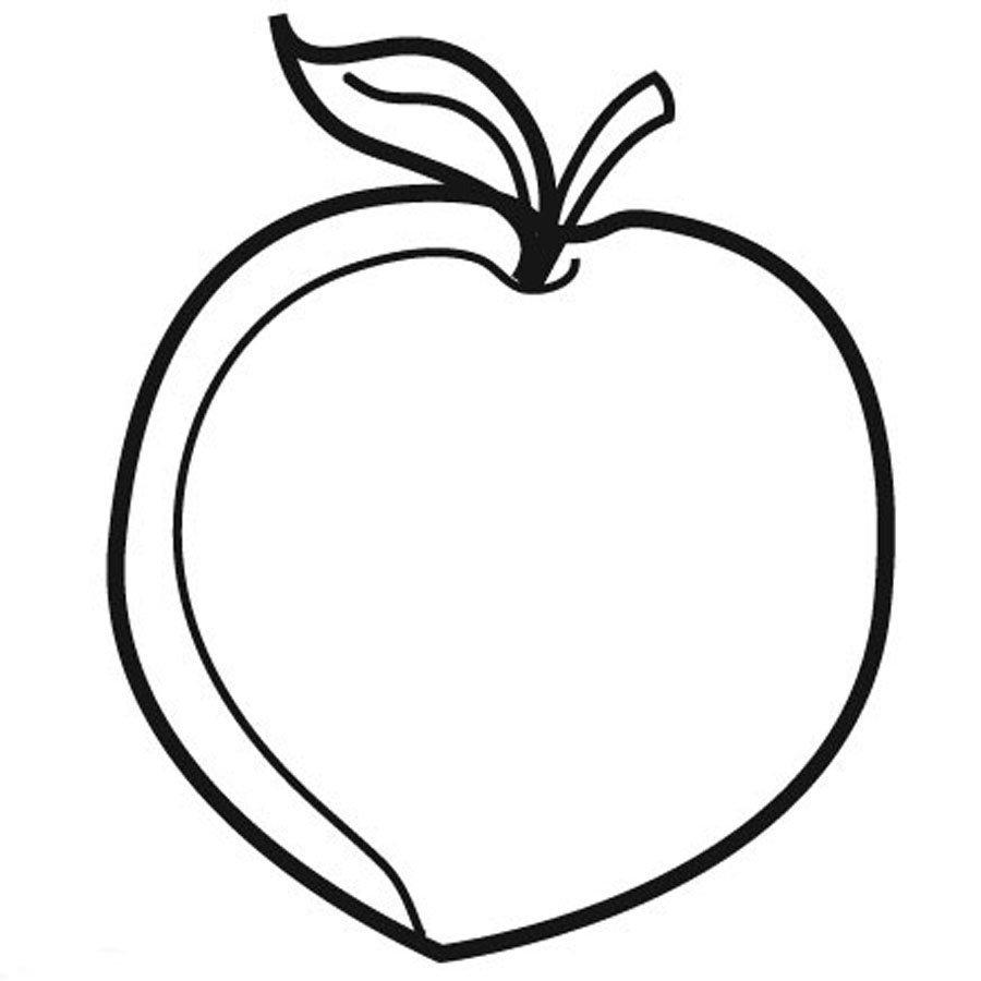 Blog MegaDiverso: Dibujos de frutas para colorear