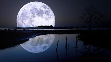 #8 Full Moon Wallpaper