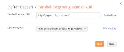 Cara Follow Blog Dengan Cepat dan Sangat Mudah