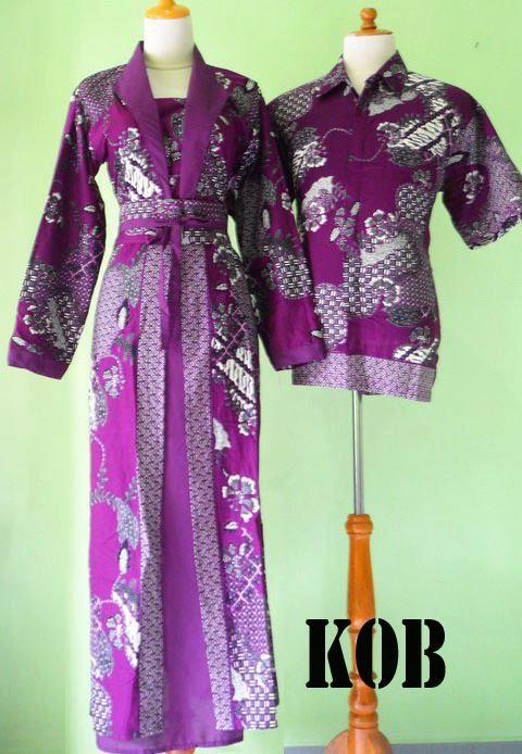 Model Baju Batik Lebaran 2015