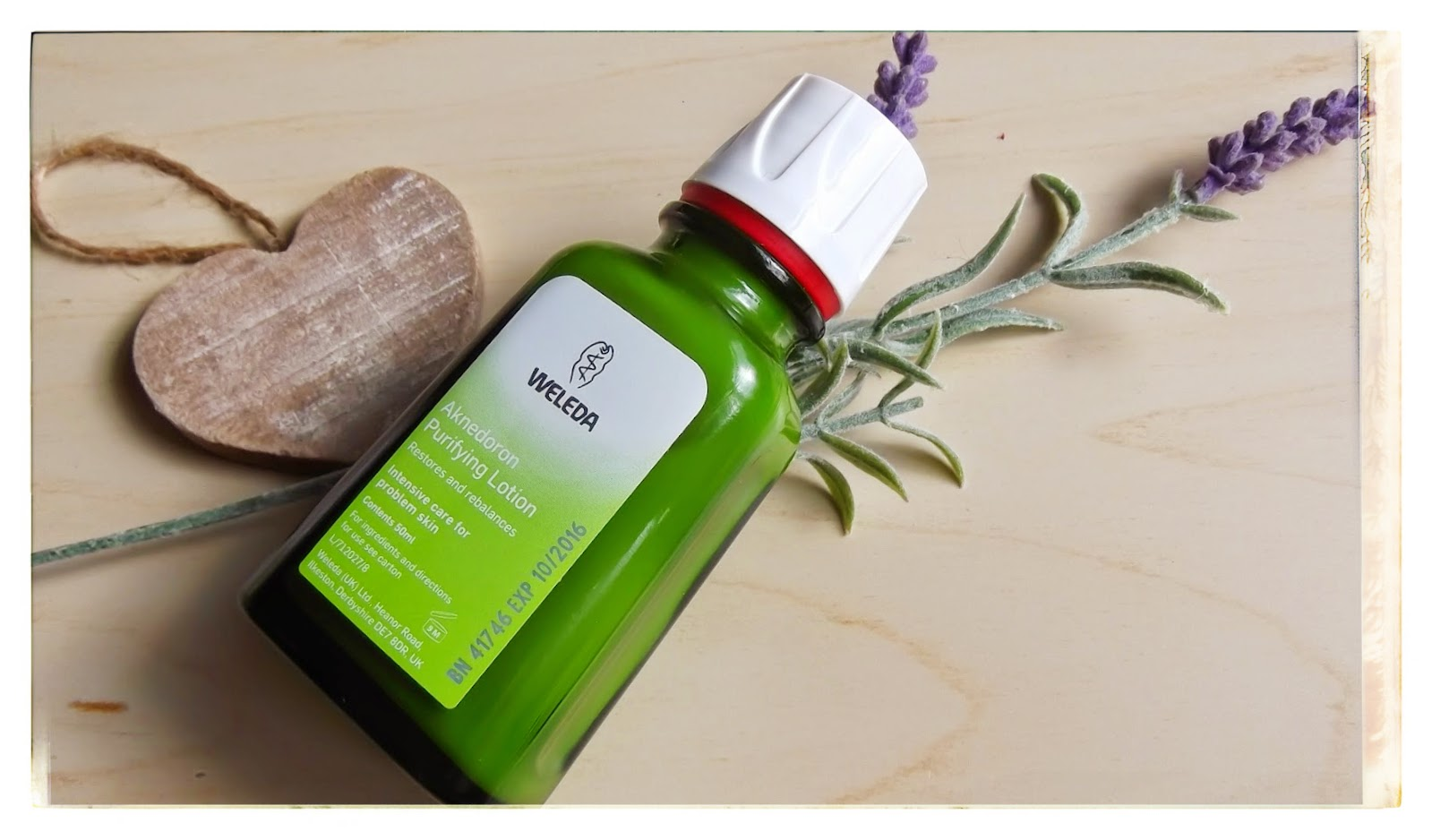 weleda akendoron blemish acne treatment lotion