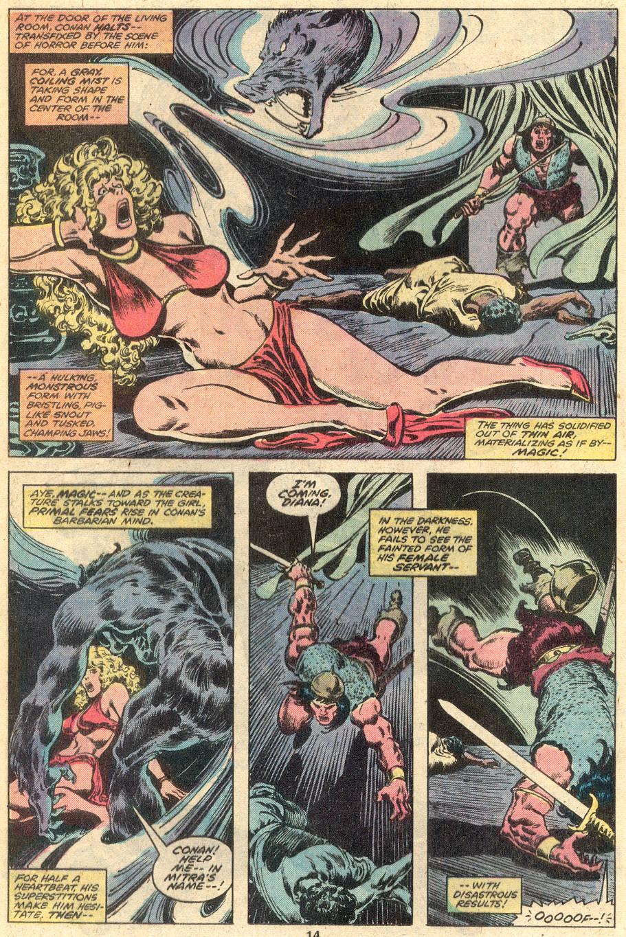 Conan the Barbarian (1970) Issue #107 #119 - English 10