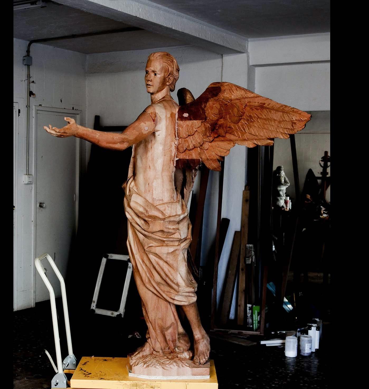 Ángel Semana Santa Tobarra escultura 25