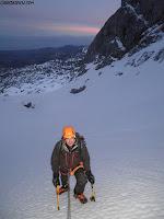 Cemba vieya,Fernando Calvo guia de montaña, escaladas Peña Santa de Enol. Guiasdelpicu.com