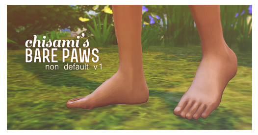 Mods Sims  Shoes Cat Paws For Sims