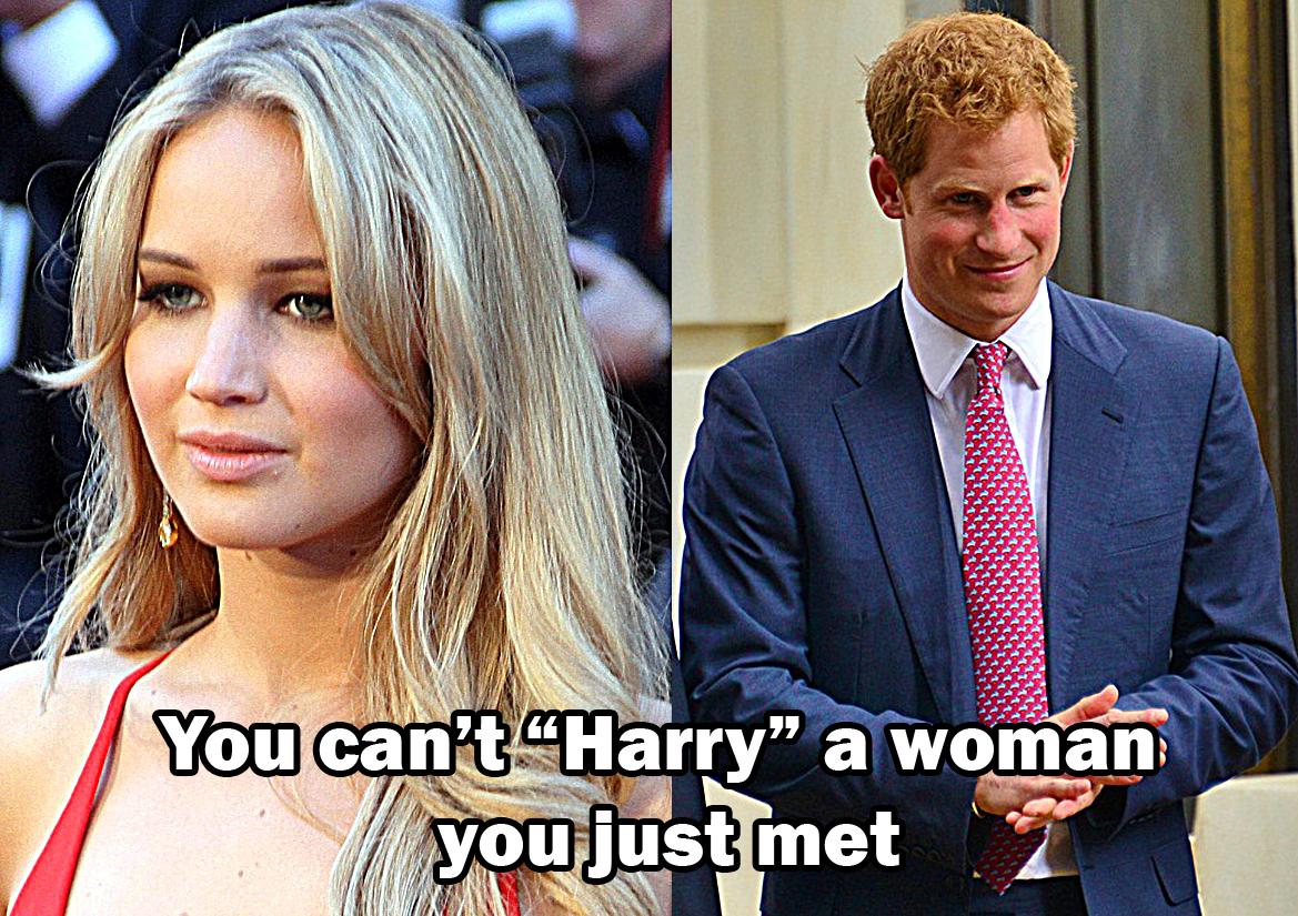 Is Jennifer Lawrence Hookup Prince Harry
