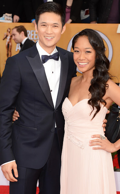 Harry Shum Jr and Shelby Rabara