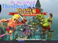 Clash of Clans Mod/Hack 7.200.19 APK Thunderbolt Server
