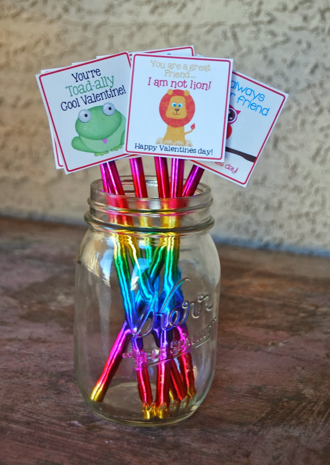 Pencil topper Valentine, Free Printables,