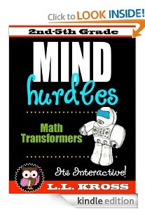 Free eBook Feature: Mind Hurdles: Math Transformers Interactive Fun by LL Kross