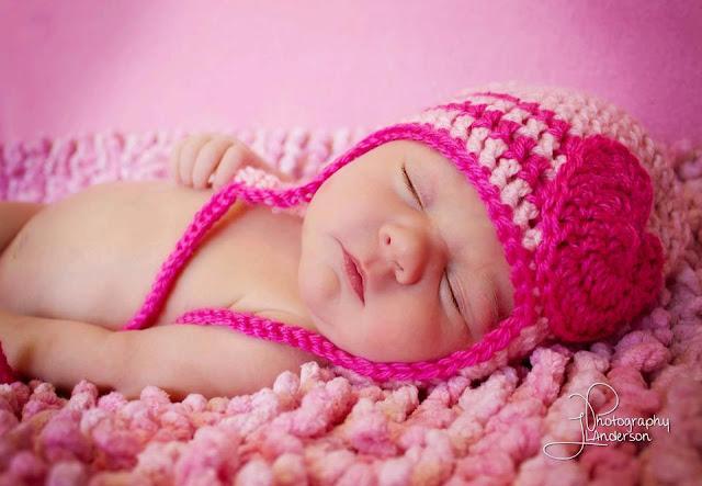 Photographe bébé fille mignon