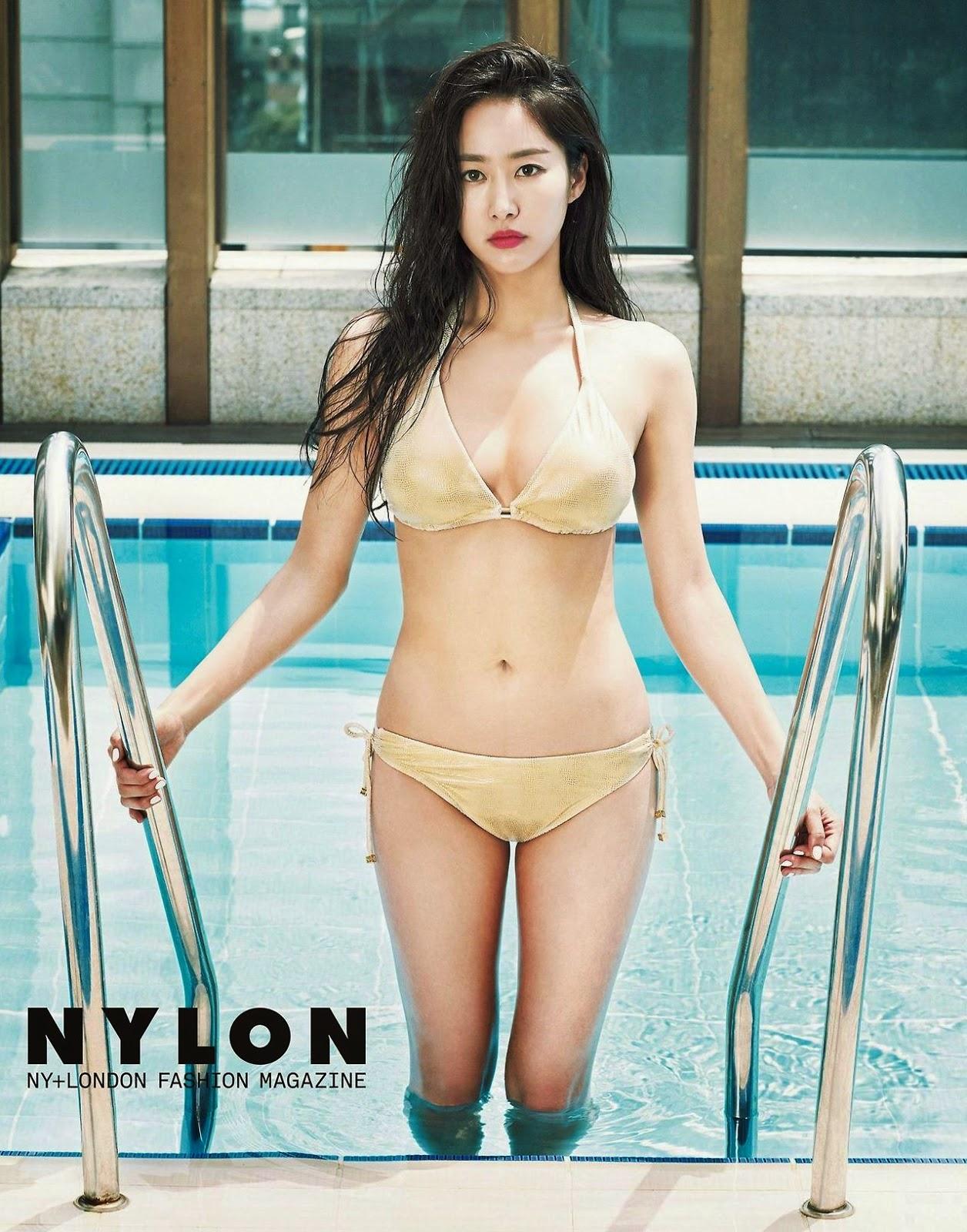 Jeon Hye Bin Nylon July 2014