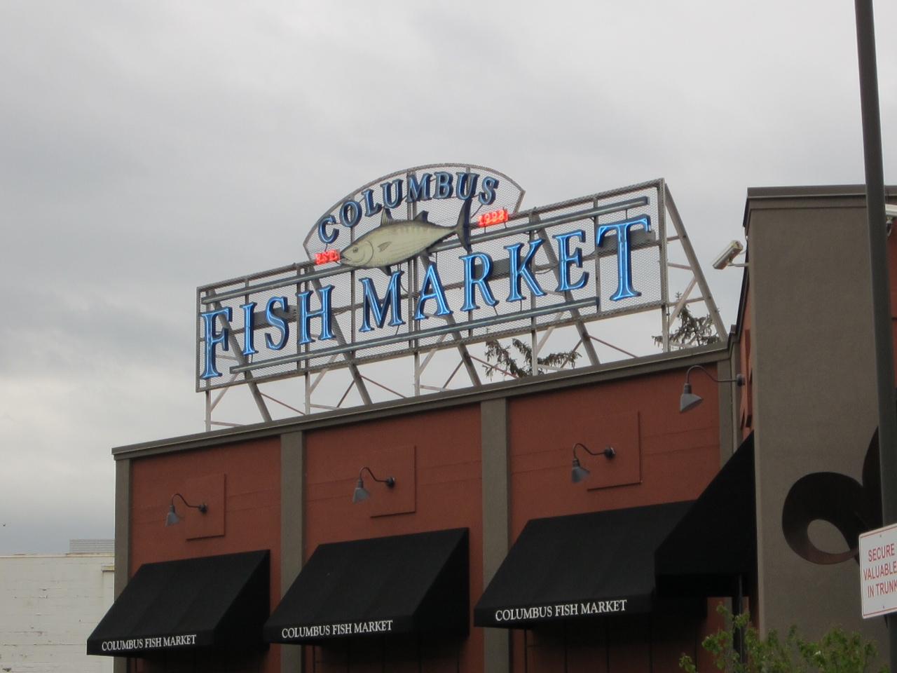 Cbus52 Columbus In A Year Columbus Fish Market