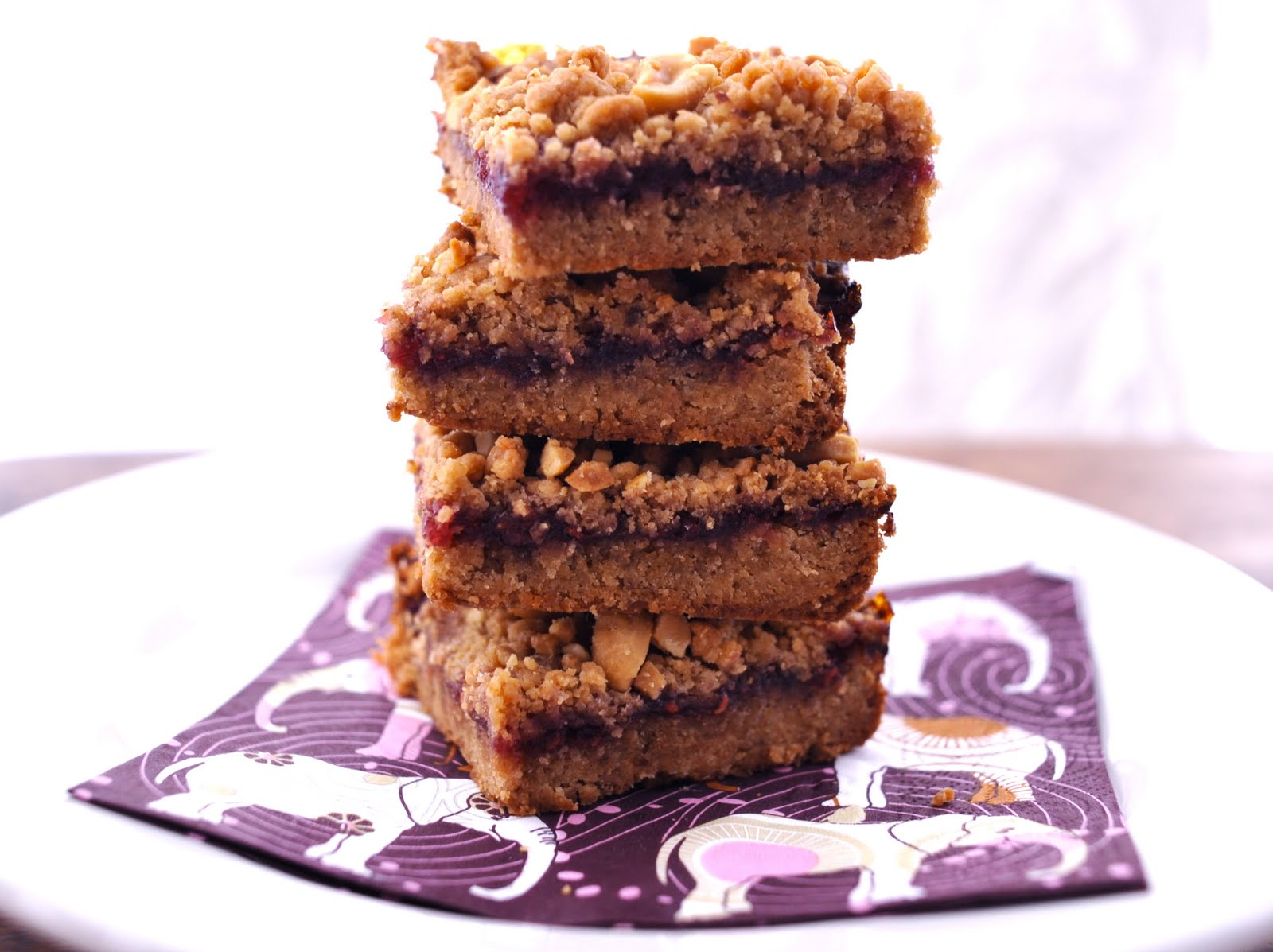 Vegan Good Things: Peanut Butter & Jelly Bars & Some Vegan ...