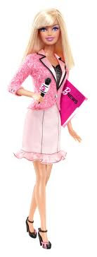 THE JOURNALIST BARBIE
