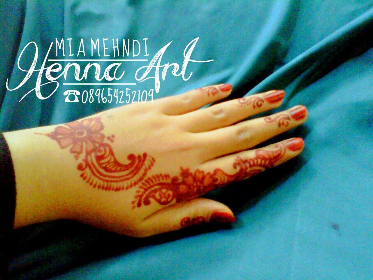 Henna Fun Mia Mehndi Henna Art Tangerang Jakarta
