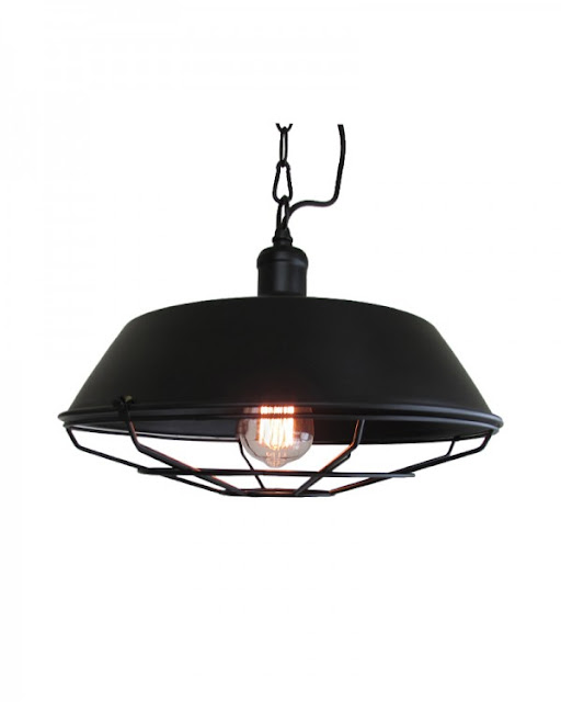 Vintage, Paint and more... Parrot Uncle rustic industrial pendant light