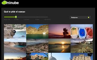 Minube Inspirame, el nuevo servicio de Minube para inspirarte para tus futuros viajes