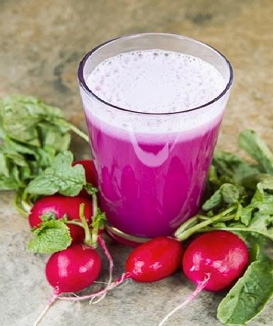 ماهي فوائد عصير الفجل