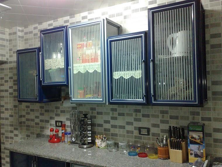 المطبخ المعدنى من الفتح للالومنيوم