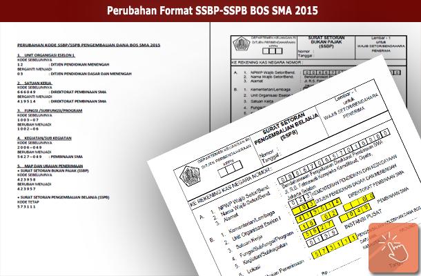 Perubahan Format SSBP-SSPB BOS SMA 2015