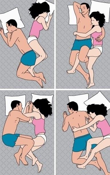 4 Cara Popular Pasangan Tidur
