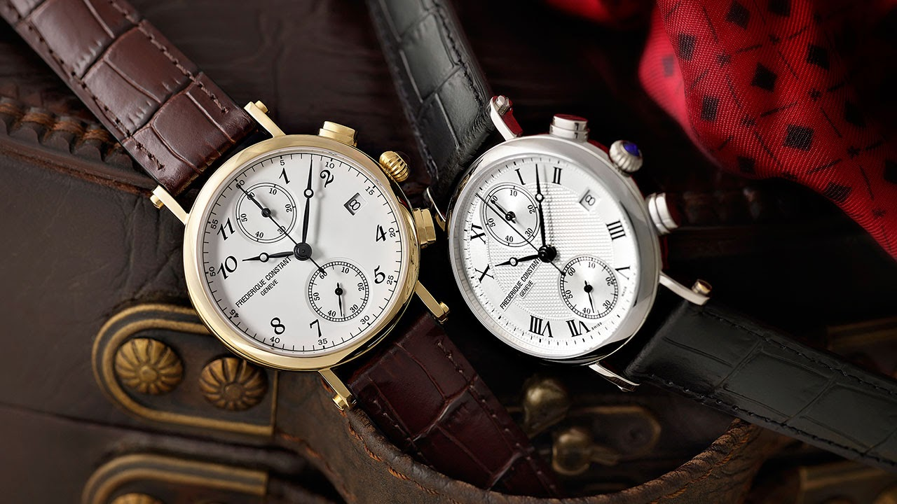 Frédérique Constant Lady Chronograph Quartz Watch