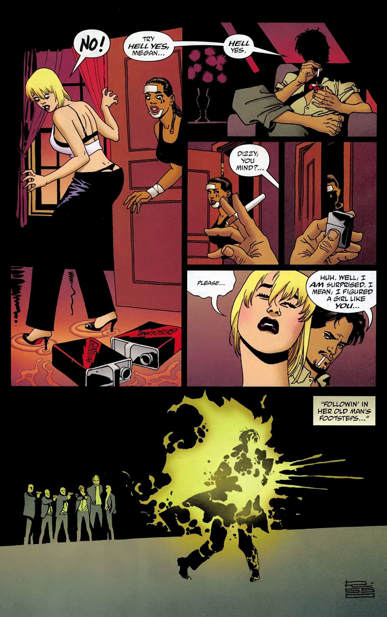 100 Bullets Issue #100 Page 26