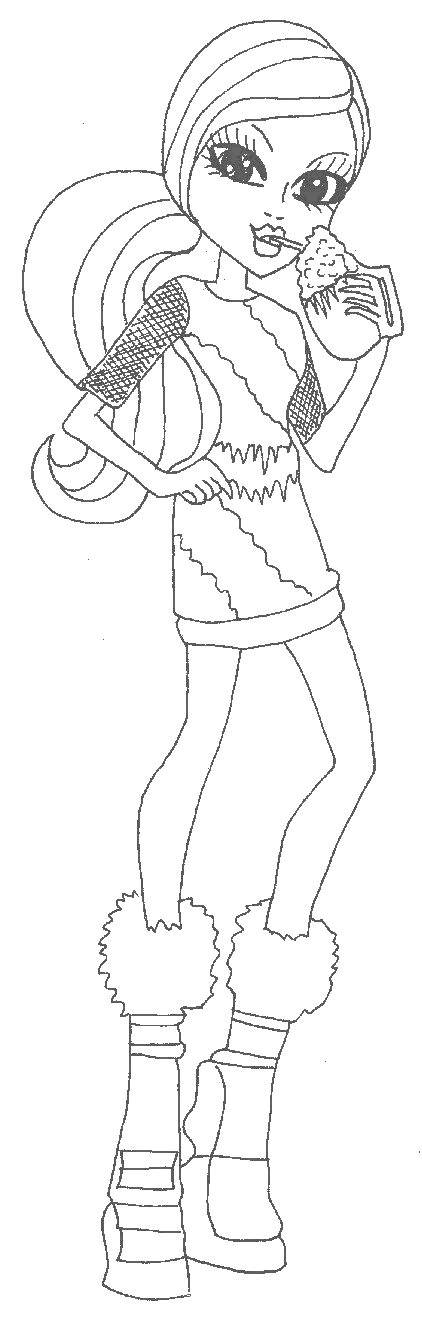 abbey bominable coloring pages - photo#43