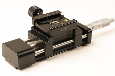 Hejnar PHOTO MS4 Linear Motion Micrometer Macro / Micro Rail