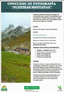 """Concurso de Fotografía """"Nuestras Montañas"""""""