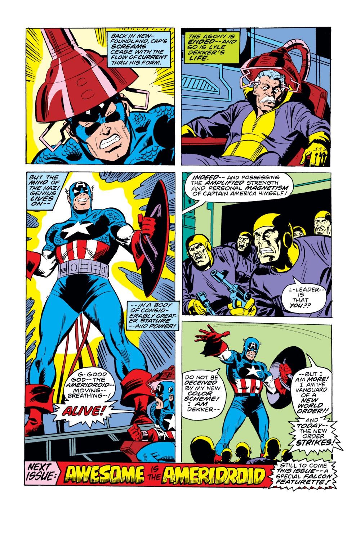 Captain America (1968) Issue #220 #134 - English 14