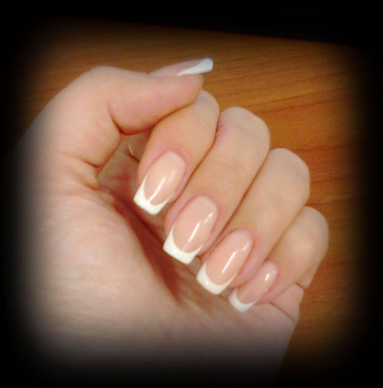 Нарощенные ногти с боку фото