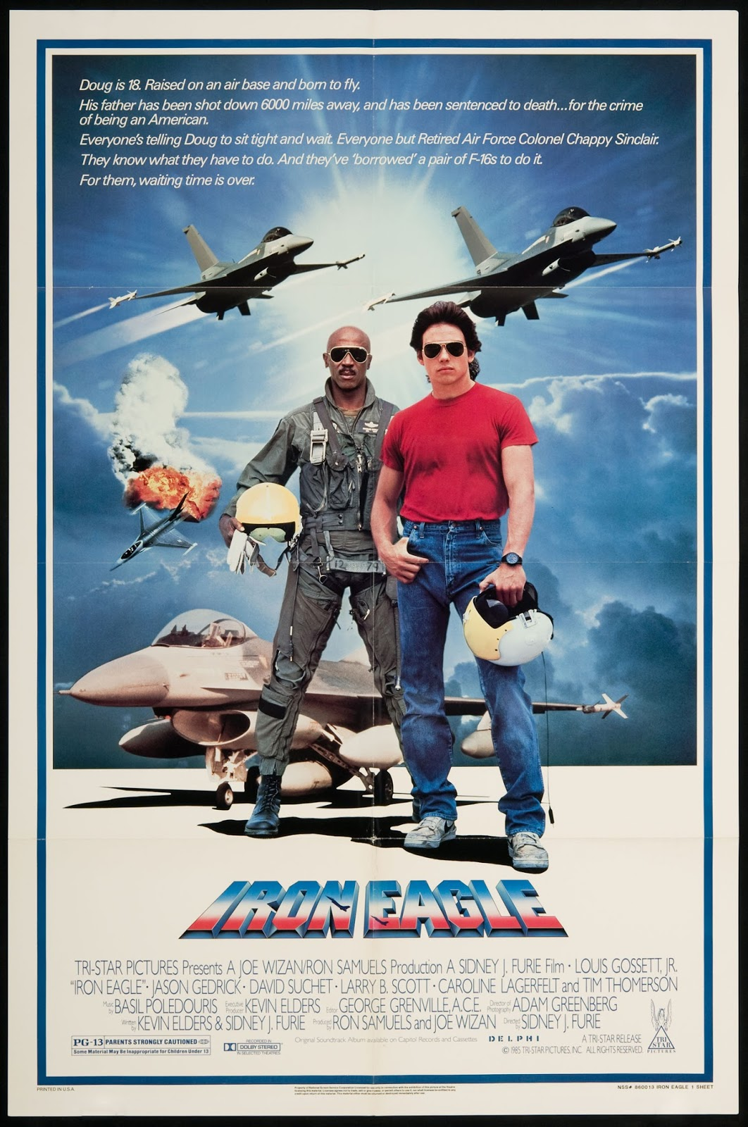 Iron Eagle (1986) tainies online oipeirates