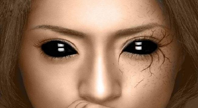 Μυστηριώδεις άνθρωποι με… ολόμαυρα μάτια!