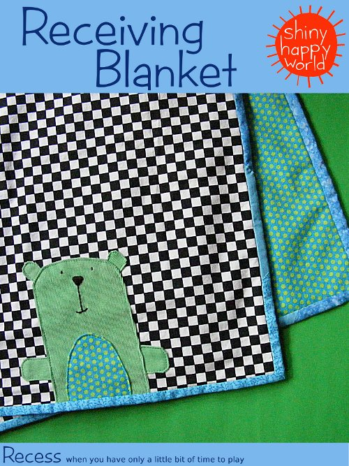 How to Sew a Baby Blanket With Fleece and Flannel | eHow.com