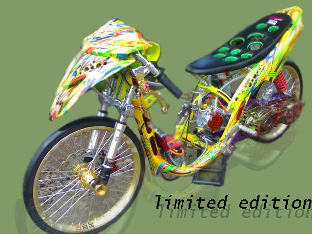 Gambar MOTOR DRAG Matic Drag | Racing look title=